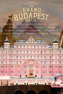 Wes Anderson - The Grand Budapest Hotel (VOST) illustration