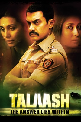 Talaash: The Answer Lies Within on iTunes