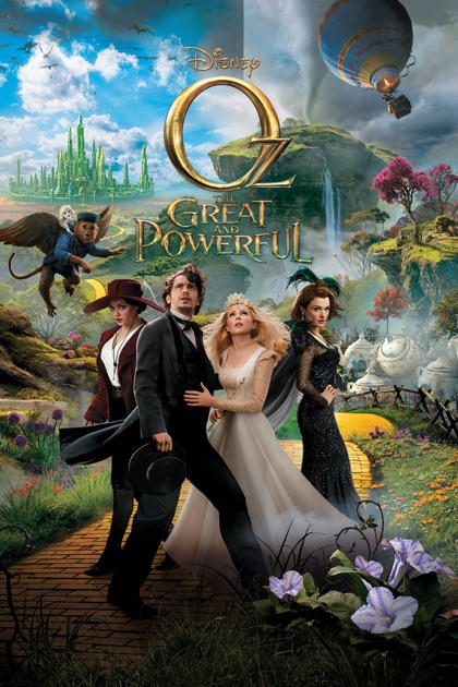 Oz the Great and Powerful on iTunes Oz The Great And Powerful Cast Oz