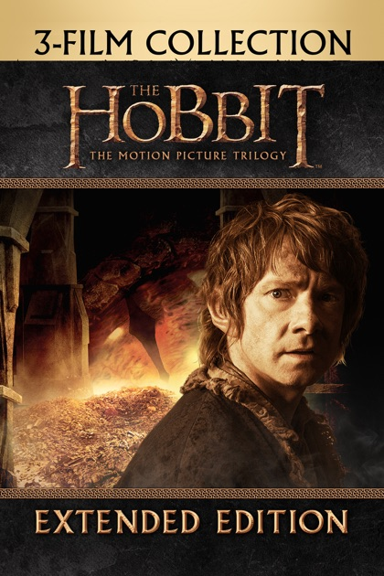 The Hobbit Trilogy (Extended Edition): 3 Movie Collection ...