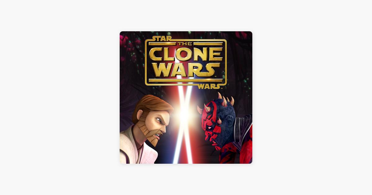 Star wars the clone wars itunes