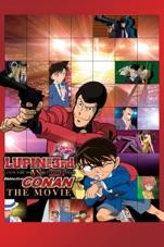 Capa do filme Lupin III vs. Detetive Conan: O Filme