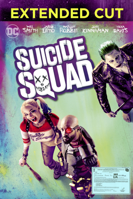David Ayer - Suicide Squad (Extended Cut) (2016) artwork