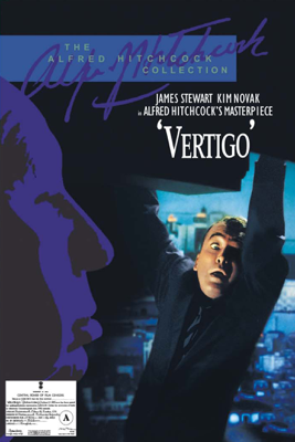 Alfred Hitchcock - Vertigo (1958) artwork