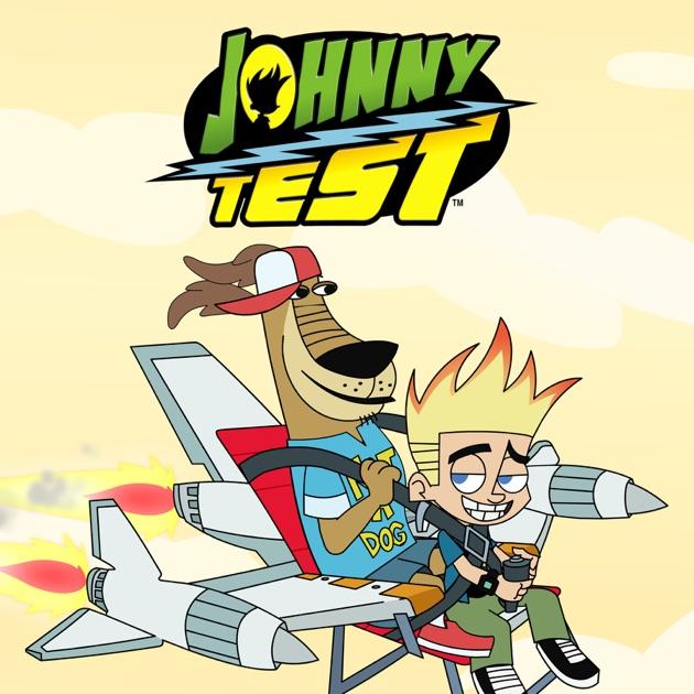 Johnny test and dukey thumb