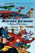 Capa do filme Liga da Justiça: A Nova Fronteira