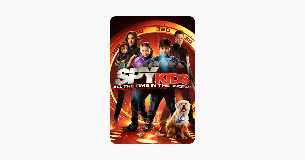 ‎Spy Kids: All the Time In the World (Spy Kids 4) on iTunes