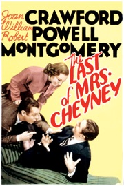 The Last Of Mrs Cheyney 1937