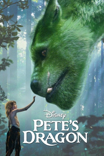Pete's Dragon (2016) movie poster