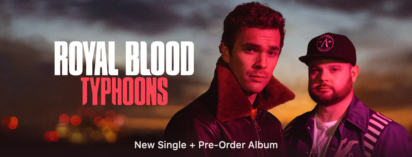 Typhoons - Single by Royal Blood