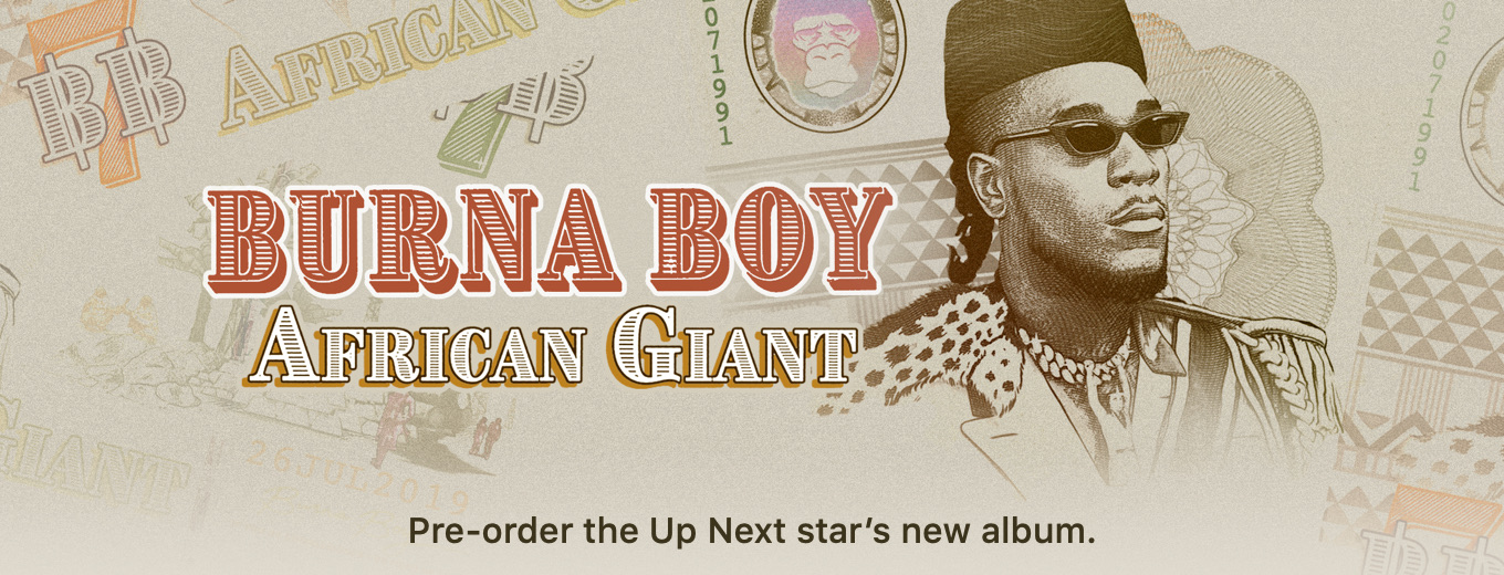 African Giant by Burna Boy