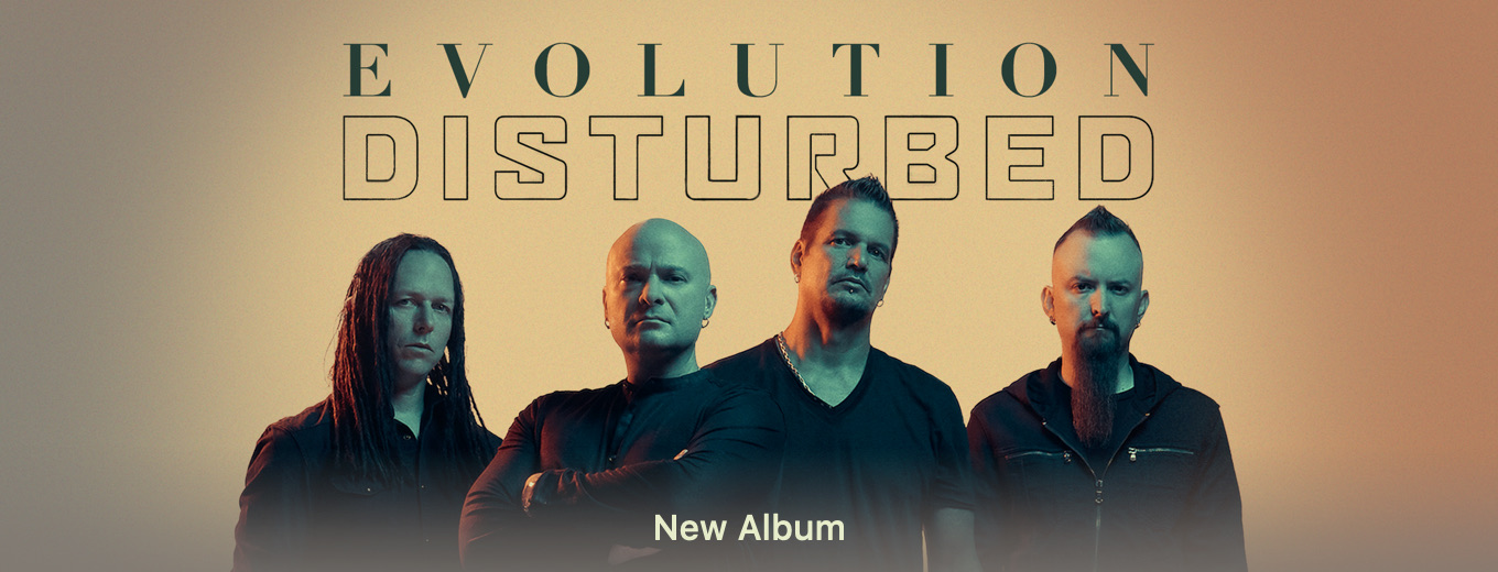 Evolution (Deluxe) by Disturbed